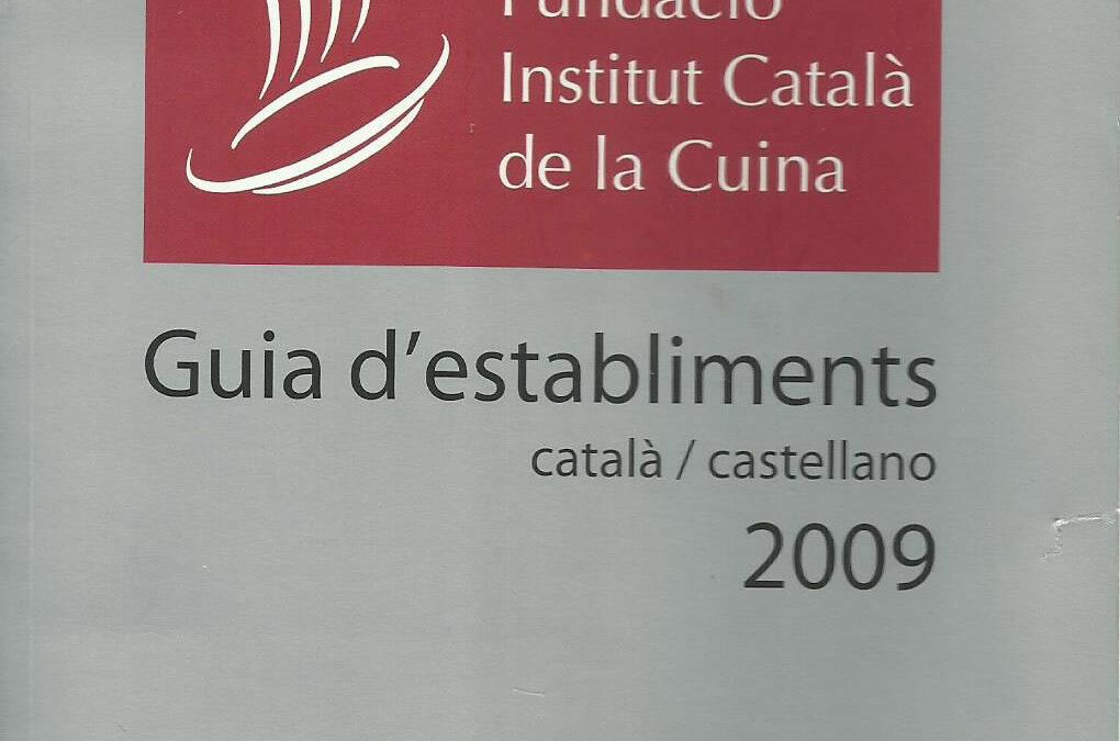 Guia d'establiments 2009