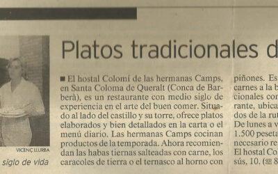 La Vanguardia | Octubre 1987