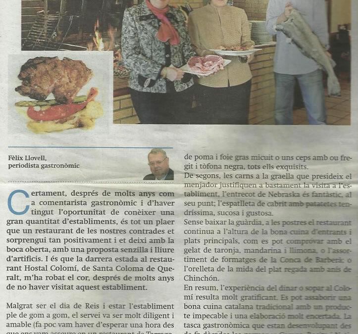 Noticies Tarragona   Gener 2013